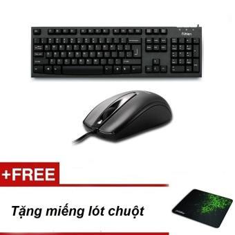 Bộ sản phẩm bàn phím Fuhlen L411 và chuột Fuhlen L102 + Tăng miếng lót chuột