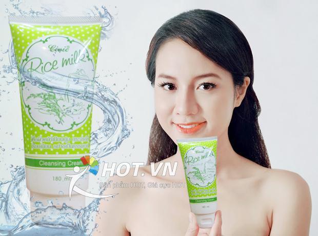 Sữa rửa mặt gạo Civic Rice Milk Thái Lan 180ml