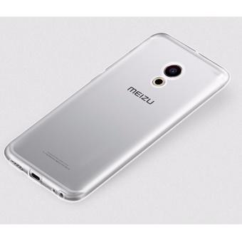 Bộ ốp lưng Silicon cho Meizu MX6 (Trắng) + Kính cường lực