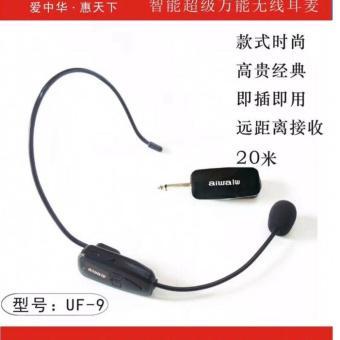 Micro không dây Đơn VOVI V6 đeo tai ( Đen ) Nhập Khẩu