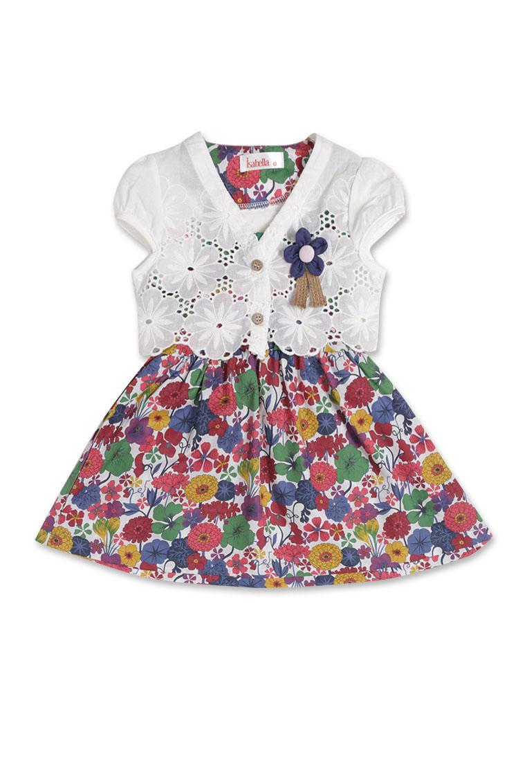 Váy hoa kèm áo lửng Isabella