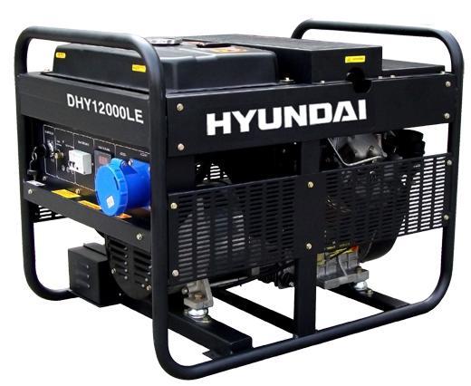 Máy phát điện chạy xăng Hyundai HY3100LE