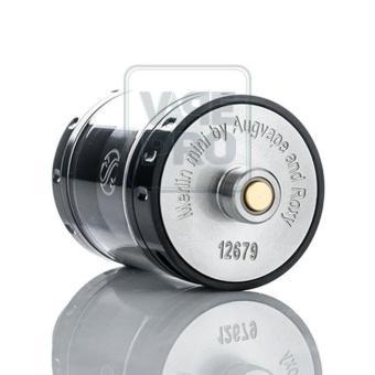 Buồng đốt Augvape Merlin Mini RTA (Silver) tặng 1 lọ tinh dầu New Liqua 10ml vị Thuốc lá nhẹ