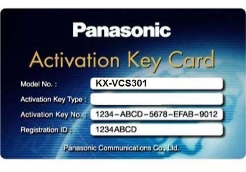 Activation key truyền hình hội nghị Panasonic