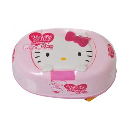 Giấy Ướt Lec Hello Kitty Có Hộp Đựng E102