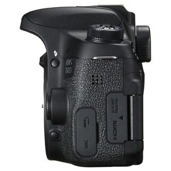 Canon EOS 760D 24MP với lens kit EF-S 18-55 IS STM (Đen) - Hàng nhập khẩu