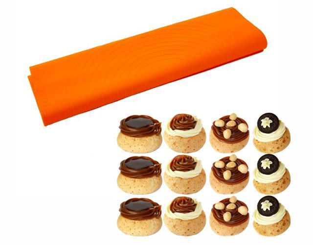 Miếng nướng silicon Tiross có thể thay thế giấy nướng và khay nướng khi làm bánh