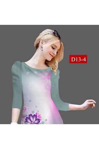 Đầm Suông Tay Lỡ D13-1(Int:Xxl)