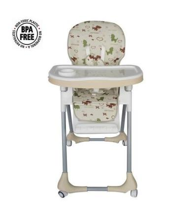 Ghế ngồi ăn điều chỉnh độ cao và chế độ nằm ngồi ARICARE ACE1015 - Họa tiết Gấu Panda