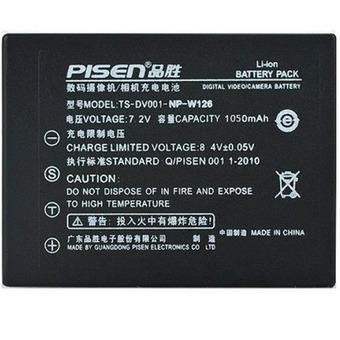Pin Pisen NP-W126 for Fujifilm X-T1  X-E2 X-A1  X-E1  XM1 X-Pro1 HS50 X-E2s X-Pro2