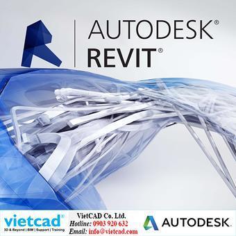 Phần mềm Autodesk Revit 2017– Thuê bao 1 năm