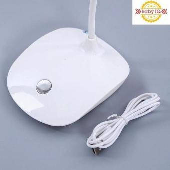 Đèn bàn led cảm ứng chống cận có lưu điện (Xanh)(Hồng)