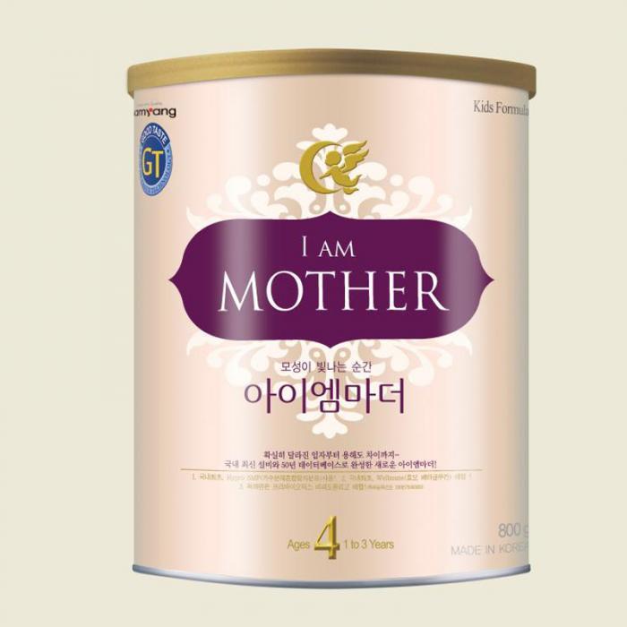 Sữa I am mother số 4 800gr (Hàn Quốc)