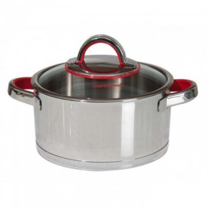 Happy Cook - Nồi Inox Cao Cấp 3 Lớp Aries 24Cm HC-24AR