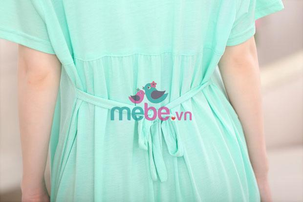 Váy bầu kết hợp cho con bú Snows Deer MB1528-2