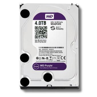 Ổ cứng WD Purple 4TB WD40PURX(màu tím)chuyên dụng dùng cho camera
