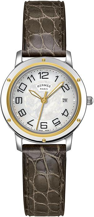Hermes Clipper Quartz MM Ladies Watch 28mm