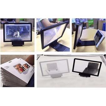 Kính 3D phóng to màn hình điện thoại (Trắng)