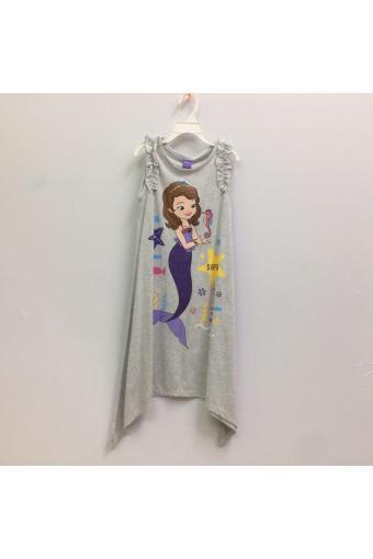 Đầm Bé Gái Disney Sofia Sfdr-0052