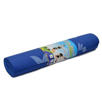 Thảm tập yoga 6 ly 173 x 61cm (Xanh dương)
