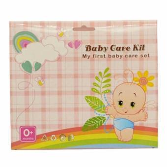 Bộ dụng cụ chăm sóc móng, tóc cho bé Baby Care Kit (Hồng)