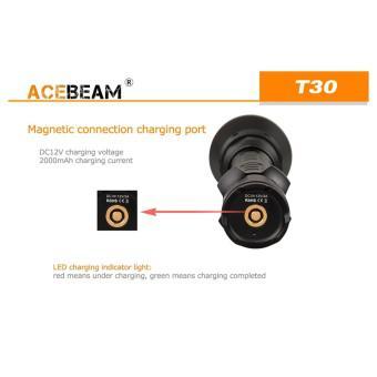Đèn pin sạc ACEBEAM T30 độ sáng 2200 lumen chiếu xa 1081m 01 bóng LED CREE XHP35 pin tích hợp liền t...