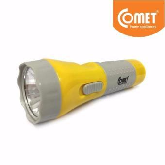 Đèn pin sạc LED COMET CRT343 (Vàng)