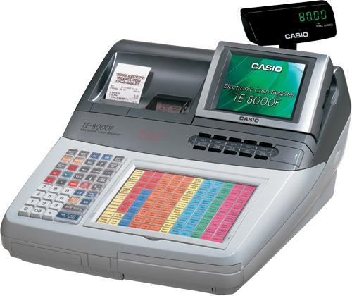 Máy tính tiền Casio Model TE-8000F