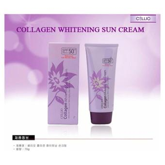 Kem Chống Nắng Cellio Collagen Whitening Sun Cream Spf50+ Pa+++
