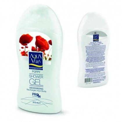 Gel Tắm Chiết Xuất Hoa Poppy AquaVera 2076 (315ml)