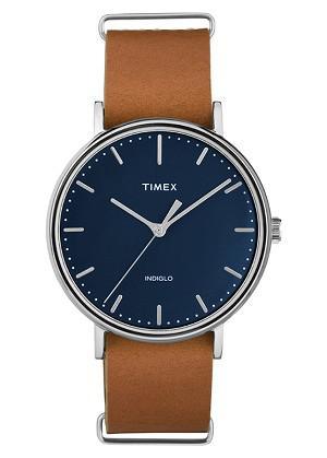 Đồng Hồ Unisex Dây Da Timex Fairfield TW2P97800