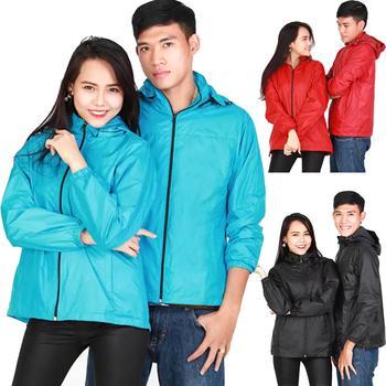 Bộ sưu tập áo khoác dù 2 lớp Unisex Sportslink