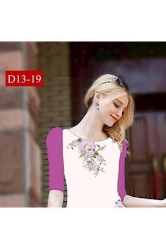 Đầm Suông Tay Lỡ D13-13(Int:Xxl)