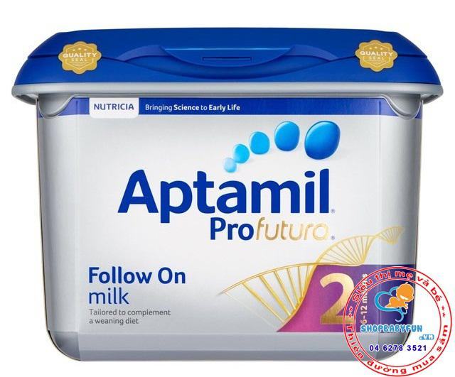 Sữa Aptamil Profutura số 2 -cho bé từ 6-12 tháng tuổi