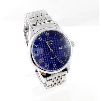 Đồng hồ nam dây da SKMEI 9058 (Đen)