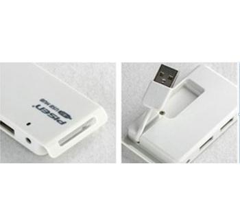 Bộ chia USB Pisen USB Hub 4 Port