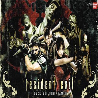 Ảnh decal bóc dán Resident Evil (Apricot)