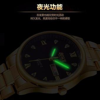 Đồng hồ nam dây kim loại cao cấp thương hiệu Bosck Japan B5688(MẶT TRẮNG)