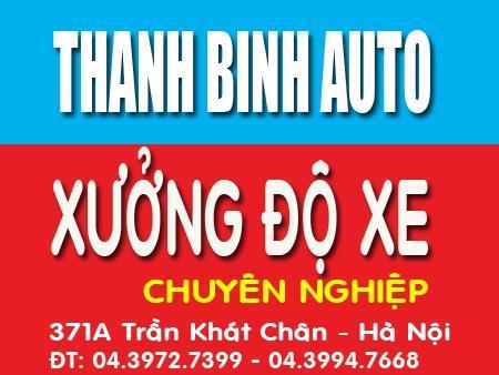 Xưởng độ xe chuyên nghiệp ThanhBinhAuto
