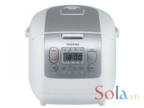 Nồi cơm điện tử Toshiba RC-10NMF(WT)V