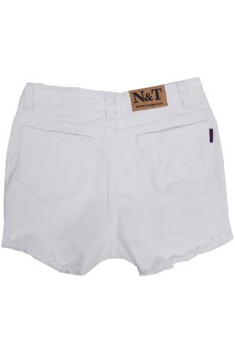 Bộ 2 Quần Short Jeans Rách Nữ SoYoung FCB 2WM SHORTS 020 W RB