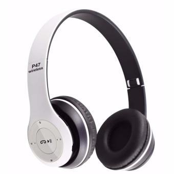 Tai nghe chụp tai cao cấp có khe thẻ nhớ Bluetooth P47