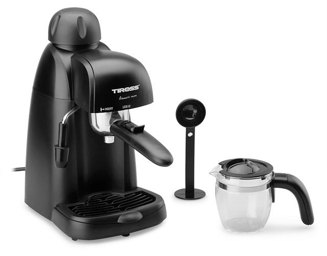 Máy pha cà phê Espresso 4 cốc, 800w Tiross