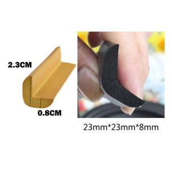 2M L-shaped Thicken Baby Safety Table Edge Corner Protector Guard Cushion Anti-collision Bumper Stri...