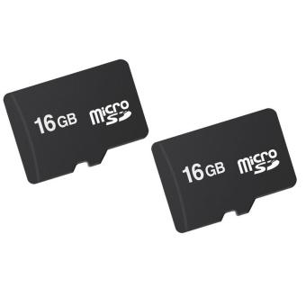 Bộ 2 Thẻ nhớ MICRO Memory Card SD 16GB (Đen)
