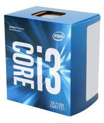 CPU Intel Core i3-7100 3.9 GHz / 3MB / HD 630 Series Graphics / Socket 1151 (Kabylake)