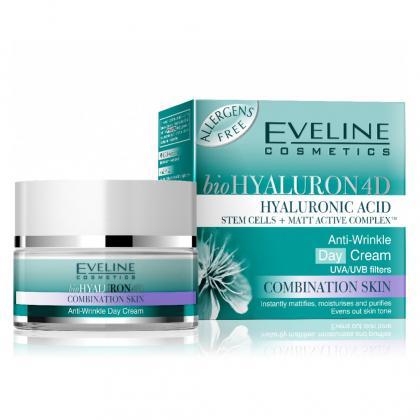 Kem Dưỡng Đêm Chống Nhăn Eveline Bio Hyaluron 4D 4107 (50ml)