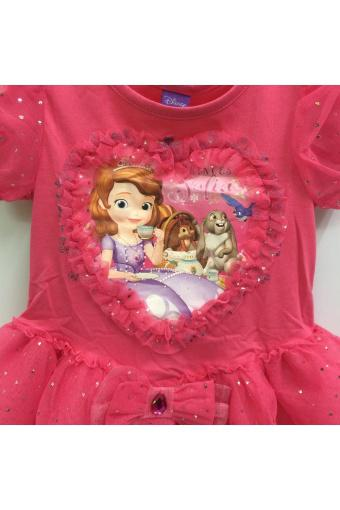 Đầm Bé Gái Disney Sofia Sfdr-0009