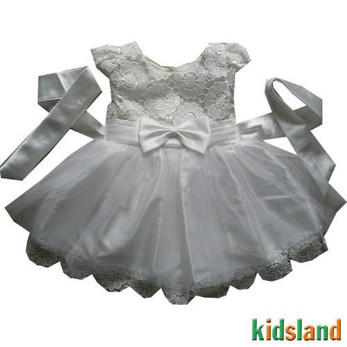 Đầm voan trắng công chúa AD145