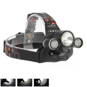 Đèn pin Led siêu sáng đội đầu 3 bóng